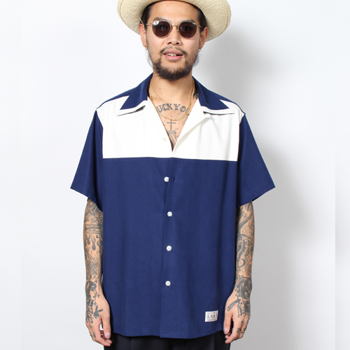 TWO-TONE 50'S SHIRT (TYPE-3)