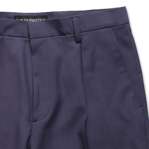 PLEATED SHORT TROUSERS (TYPE-1)