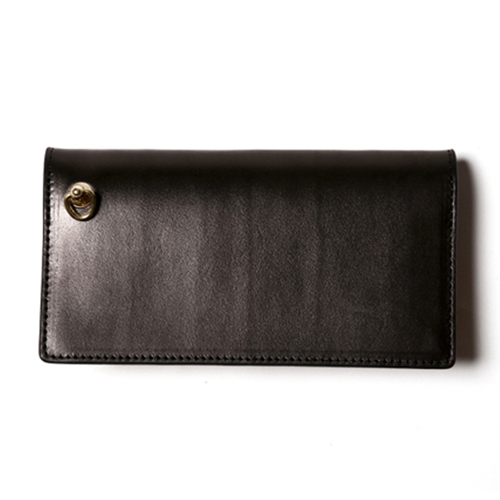 PLAIN LEATHER LONG WALLET [17SS1016]