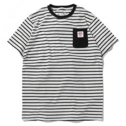 BOREDER POCKET TEE