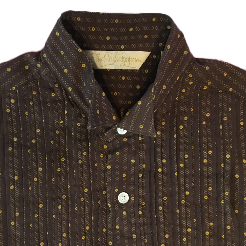 BEANS STRIPE WING COLLAR SHIRT ★30%OFF★