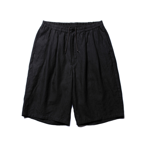 Linen 2 Tuck Easy Shorts