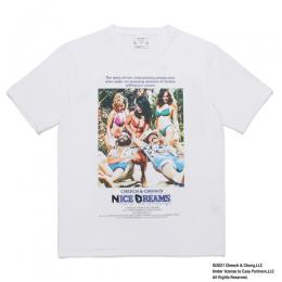 NICE DREAMS / WASHED HEAVY WEIGHT T-SHIRT (TYPE-1)