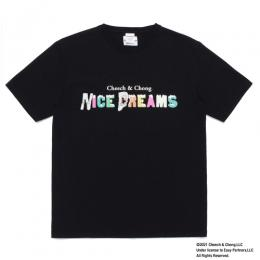 NICE DREAMS / WASHED HEAVY WEIGHT T-SHIRT (TYPE-3)