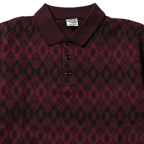 JACQUARD POLO SHIRT [17SS076]★30%OFF★