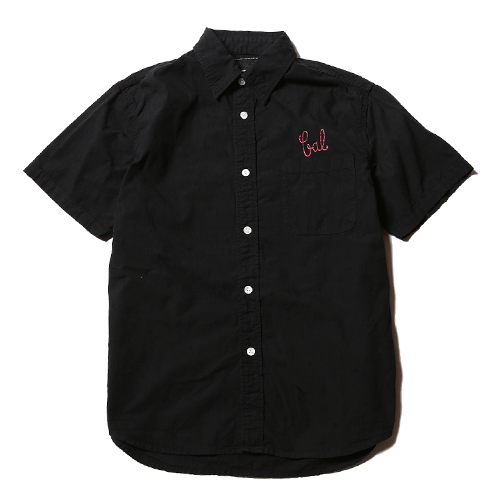 DOBBY STAR PATTERN EMBROYDERY WORK SHIRT★30%OFF★
