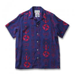 WOLF'S HEAD / S/S HAWAIIAN SHIRT