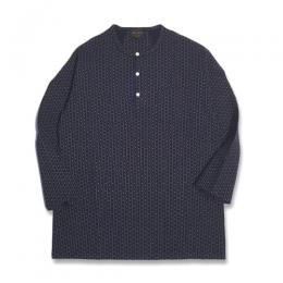 WARDROBE - L/S HENRY NECK T-SHIRT