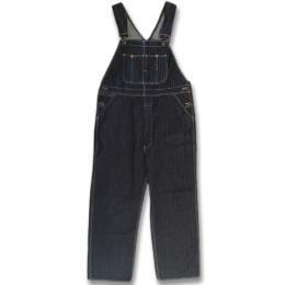 KAIHARA STRIPE DENIM OVERALL