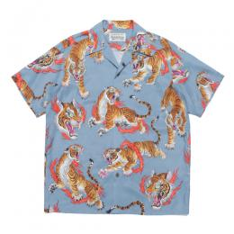 TIM LEHI / S/S HAWAIIAN SHIRT (TYPE-2)