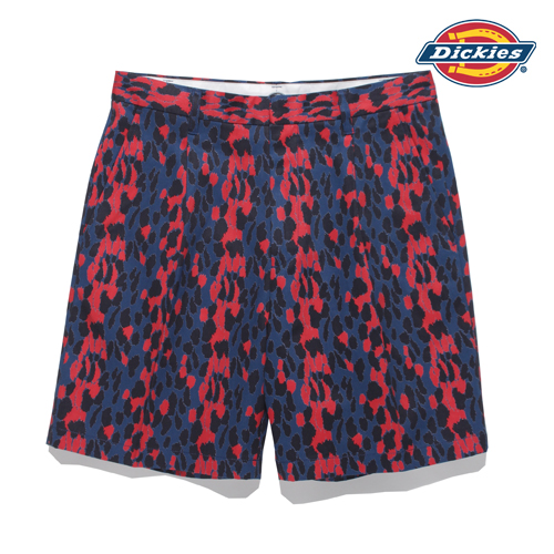 DICKIES / PLEATED SHORT TROUSERS (TYPE-1)