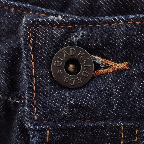 "GLADDEN - DENIM ""TYPE-2"" (ORANGE)"