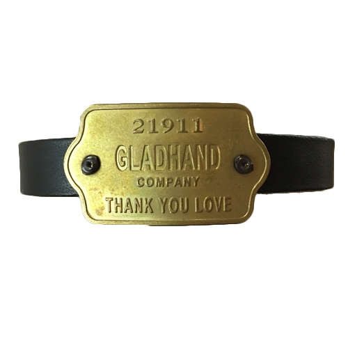 "GH TAG - NARROW BRACELET ""THANK YOU LOVE"""