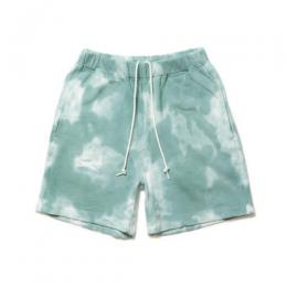 TIED-YED SWEAT SHORTS