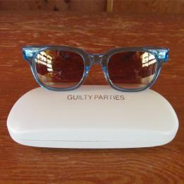 WELLINGTON GLASSES(CLEAR FLAME)(L-BLUE)