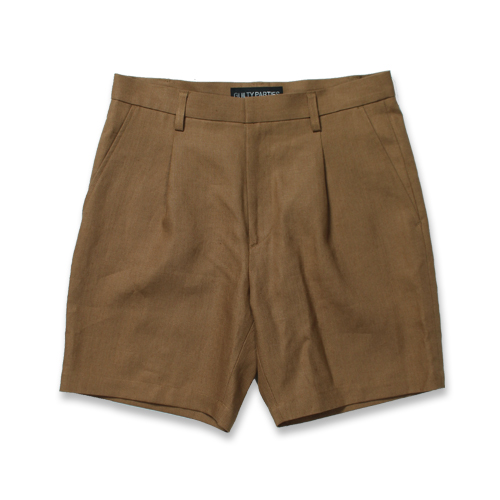 PLEATED SHORT TROUSERS (TYPE-4)