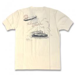 POSTAL OCEAN - HENRY NECK S/S T-SHIRTS