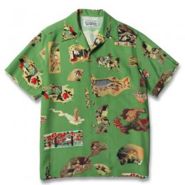 """JAPAN"" S/S HAWAIIAN SHIRT"