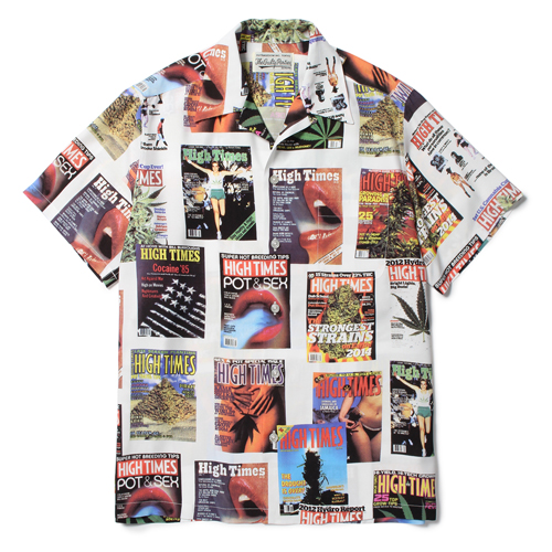 HIGHTIMES × WACKO MARIA HAWAIIAN SHIRT (TYPE-1)
