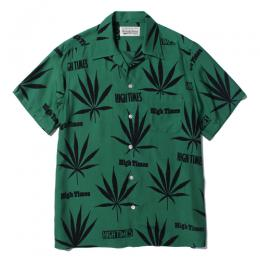 HIGHTIMES × WACKO MARIA HAWAIIAN SHIRT (TYPE-3)