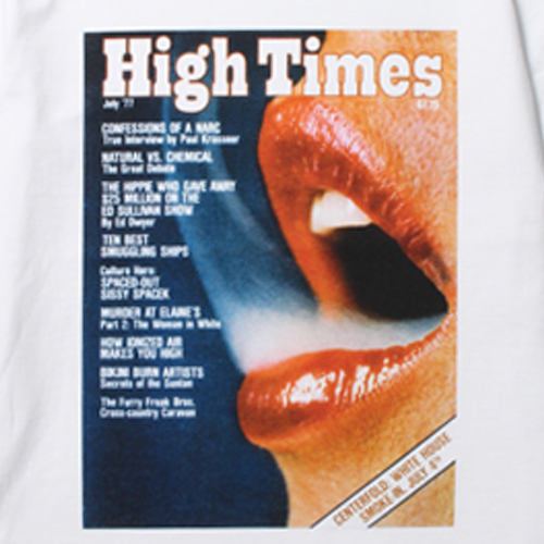 × HIGHTIMES WASHED H/W C/N T-SHIRT (TYPE-2)