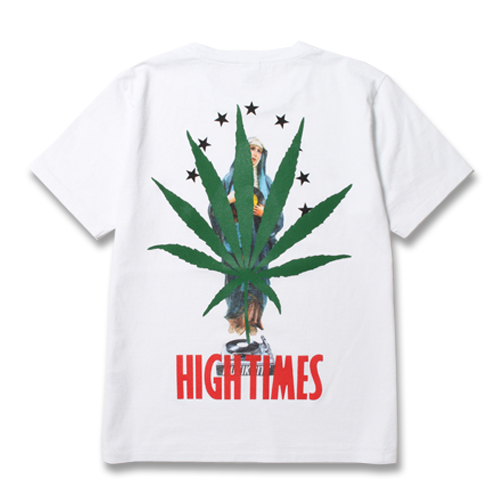 × HIGHTIMES  WASHED H/W C/N T-SHIRT (TYPE-11)