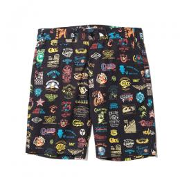 ALLOVER ARCHIVE LOGO PATTERN SHORT PANTS