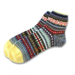 MULTI BORDER MIDDLE SOCKS