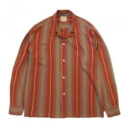 BRUSH MARK STRIPE SHIRT