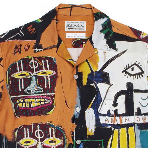 JEAN-MICHEL BASQUIAT / S/S HAWAIIAN SHIRT (TYPE-4)