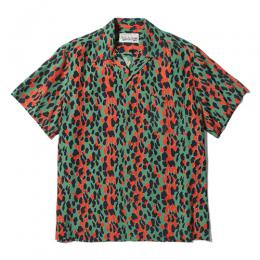 """LEOPARD"" S/S HAWAIIAN SHIRT (TYPE-1)"