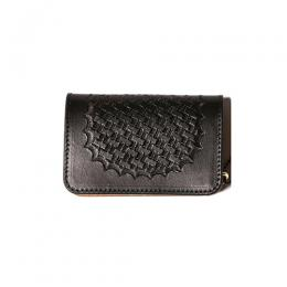 EMBOSSING LEATHER MINI WALLET [17SS1043]