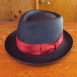 PANAMA HAT THR-01 NVY (PLAIN RIBBON) BRISA (G3)