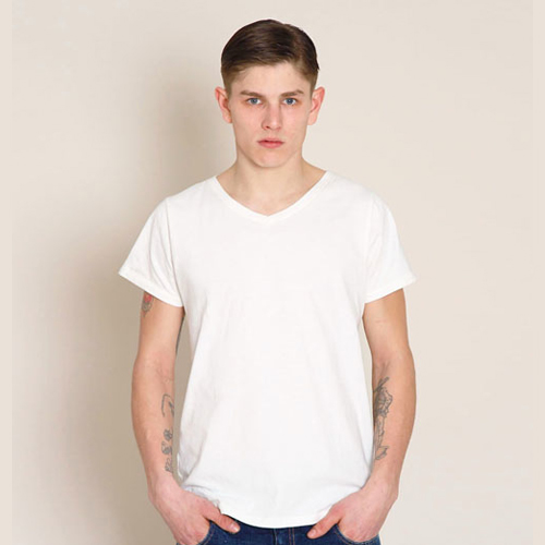 "3-PACK V NECK T ""MR.WHITE"""