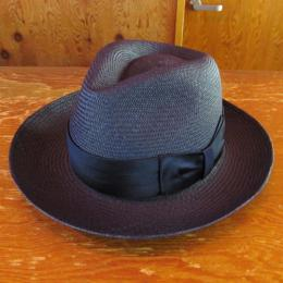 PANAMA HAT THR-04 NVY (PLAIN RIBBON) CUENCA (G4)
