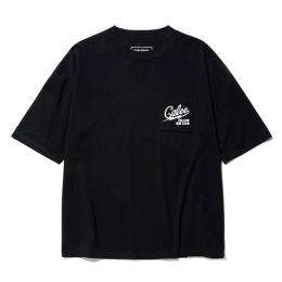 ×SHEL TECH DROP SHOLDER POCKET T-SHIRT