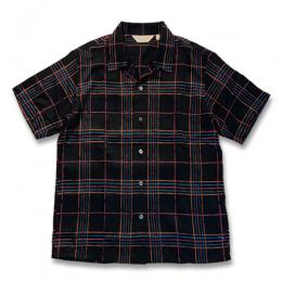 S/S WINDOWPANE CHECK SHIRT