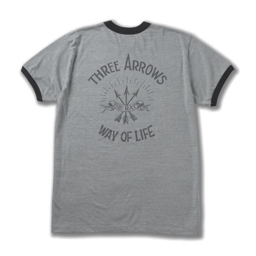 THREE ARROWS RINGER T-SHIRT ★50%OFF★