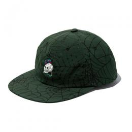 ALLOVER SPIDERWEB PATTERN CAP