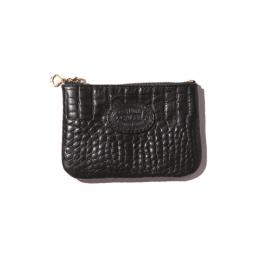 EMBOSSING CROCODILE LEATHER COIN PURSE