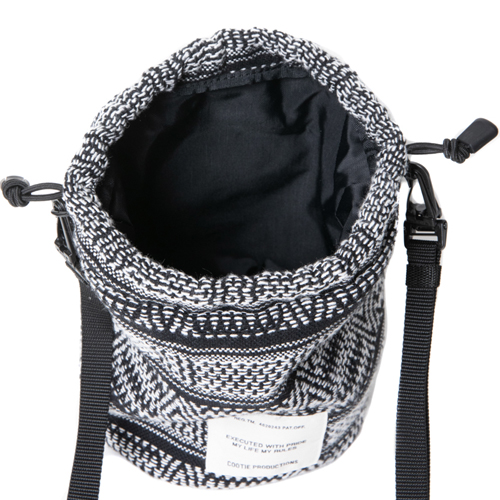 Mexican Jacquard Drawstring Bag