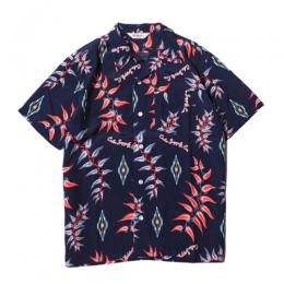 RAYON NATIVE ALOHA PATTERN S/S SHIRT