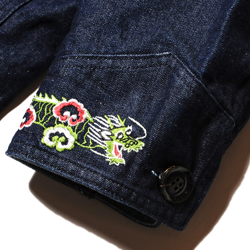 SOUVENIR DENIM SHOP COAT