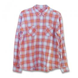 "L/S OMBRE CHECK SHIRT FD ""LUDWIG"" ★30%OFF★"
