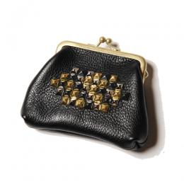 STUDS LEATHER COIN CASE