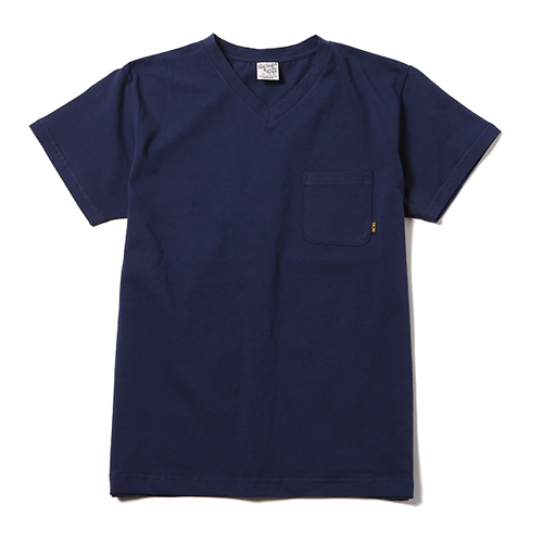 POCKET V NECK T-SHIRT [16ST040] ★30%OFF★