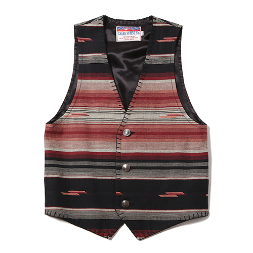NATIVE BORDER VEST [16ST043] ★30%OFF★