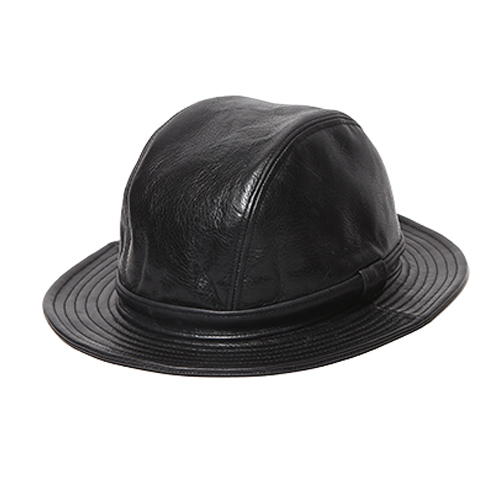 LEATHER METRO HAT [16ST071 ★30%OFF★
