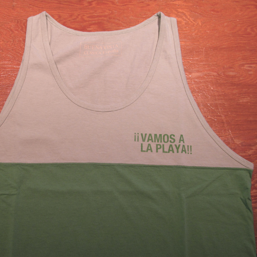 VAMOS Two Tone Tank Top ★50%OFF★