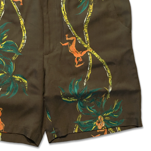 "PALMS TREE CLIMBER"" HAWAIIAN SHORTS"